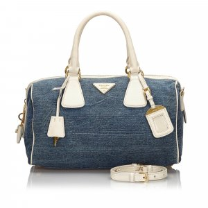 Prada Denim Satchel