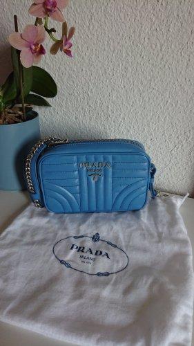 Prada Diagramme Mini Tasche neu blau