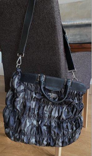 PRADA Double Leinen Handtasche