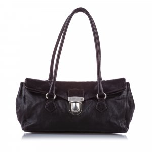 Prada Easy Leather Shoulder Bag
