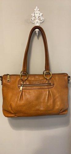 Prada Echt Leder Tasche Vintage in Braun