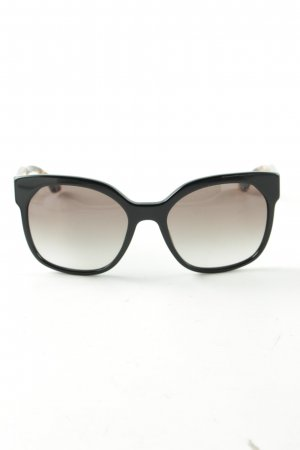 Prada eckige Sonnenbrille Animalmuster Business-Look