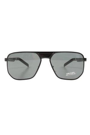 """Prada Gafas de piloto """"0PR 60WS BLACK"""" negro"""