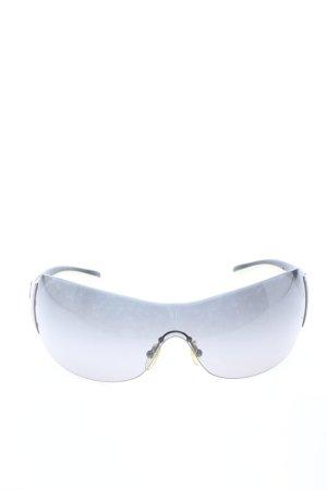 Prada Gafas de sol cuadradas negro-gris claro look efecto mojado