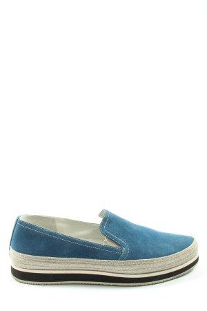 Prada Espadrillas blu stile casual