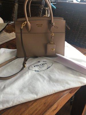 Prada Esplanade Tasche Beige Saffiano Leder
