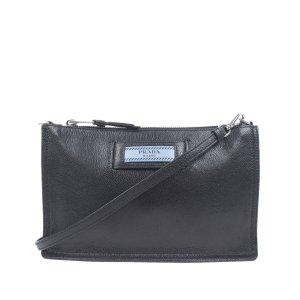 Prada Etiquette Leather Crossbody Bag
