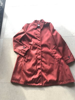 Prada Heavy Raincoat carmine