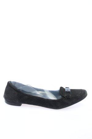 Prada Bailarinas plegables negro estilo «business»