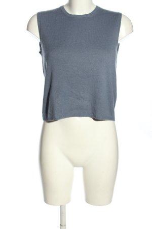 Prada Sweter bez rękawów z cienkiej dzianiny niebieski W stylu casual