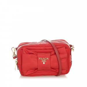 Prada Crossbody bag pink nylon