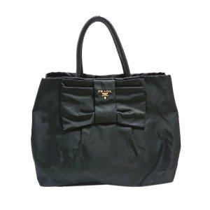 Prada Fiocco Bow Tessuto Handbag