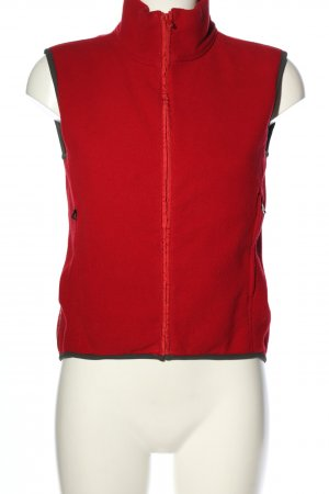 Prada Fleeceweste rot Casual-Look