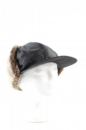 Prada Aviator Hat black casual look