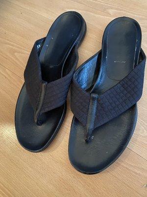 Prada Sandały korkowe  czarny