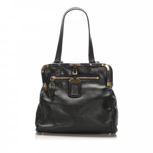 Prada Frame Leather Shoulder Bag