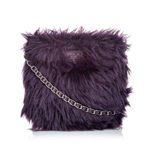 Prada Bandolera púrpura