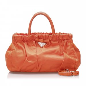 Prada Sacoche orange nylon