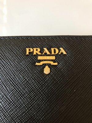 Prada Geldbeutel / Portemonnaie aus Saffiano-Leder