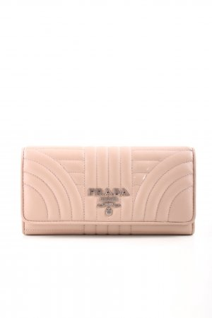 "Prada Wallet ""Continental Wallet Leather Cipria"" beige"