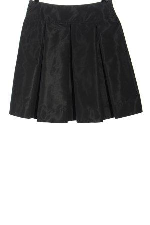 Prada Flared Skirt black mixture fibre