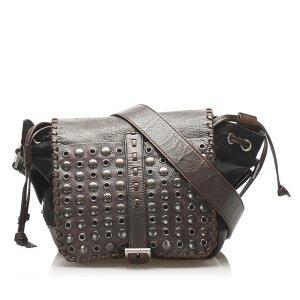 Prada Gromment Tessuto Crossbody Bag
