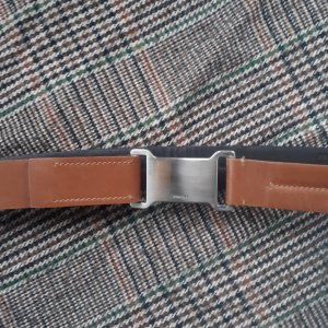 Prada Leather Belt brown leather