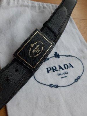 Prada Leather Belt black