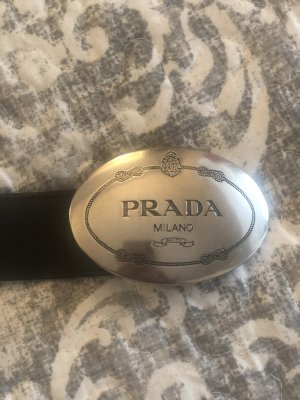 Prada Leather Belt black