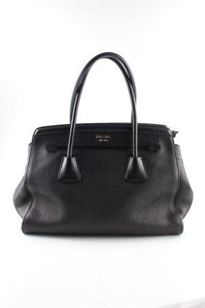 Prada Handtas zwart zakelijke stijl