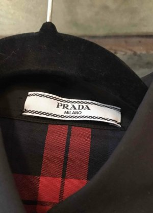 Prada Long Sleeve Shirt multicolored