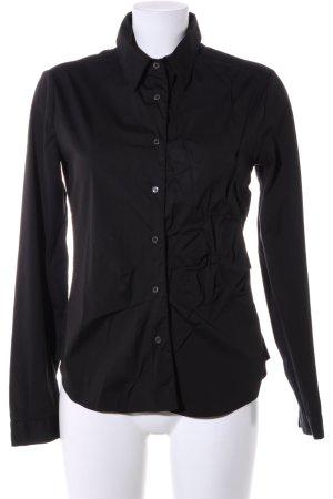 Prada Hemd-Bluse schwarz Casual-Look