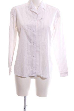 Prada Hemd-Bluse pink Streifenmuster Business-Look