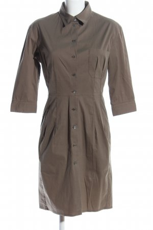 Prada Hemdblusenkleid khaki Business-Look