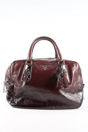 Prada Henkeltasche rot Business-Look