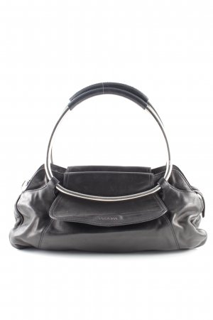 Prada Henkeltasche schwarz Business-Look