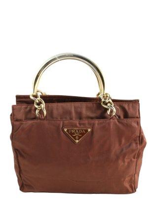 Prada Carry Bag brown casual look