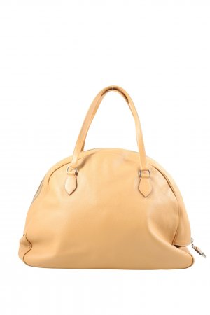Prada Henkeltasche nude Business-Look