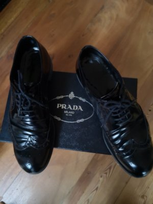 Prada Oxfords black leather