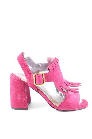 Prada High Heel Sandaletten pink Casual-Look