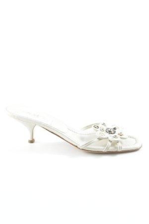 Prada High Heel Sandaletten mehrfarbig Elegant