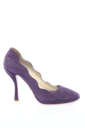 Prada High Heels lila Elegant
