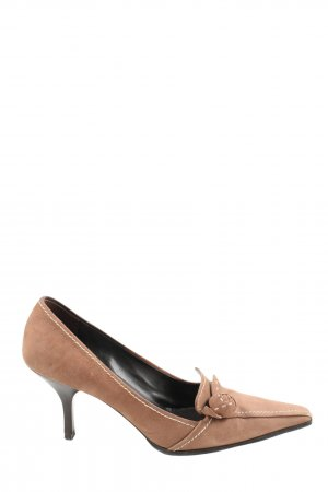 Prada Hochfront-Pumps braun Casual-Look