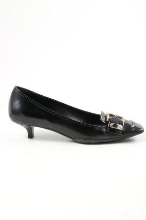 Prada Loafers zwart zakelijke stijl