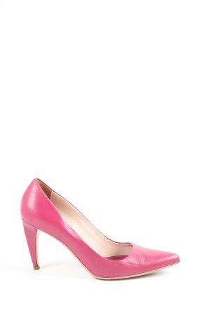 Prada Hochfront-Pumps pink Business-Look