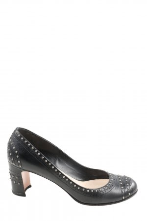 Prada Hochfront-Pumps schwarz Casual-Look