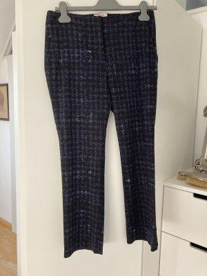Prada Pantalone a 7/8 nero-blu scuro Lana