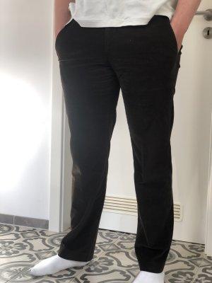 Prada Pantalone di velluto a coste multicolore Cotone