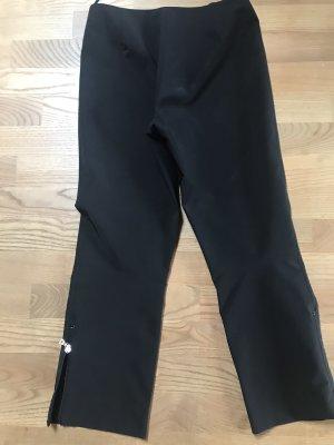 Prada pantalón de cintura baja negro