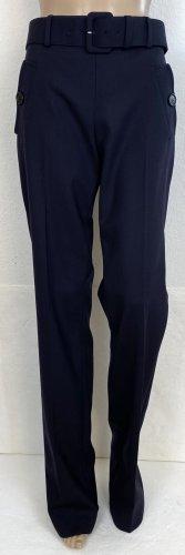 Prada Wełniane spodnie ciemnoniebieski Wełna